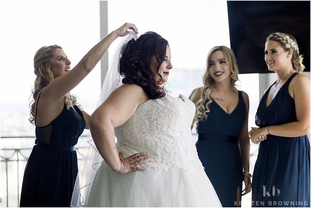 bridal preparation in penthouse downtown west palm