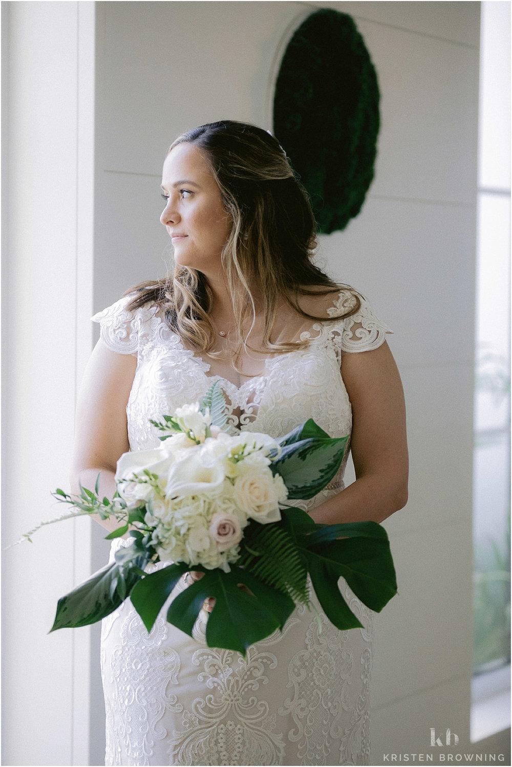 Hutchinson Shores Resort and Spa bride
