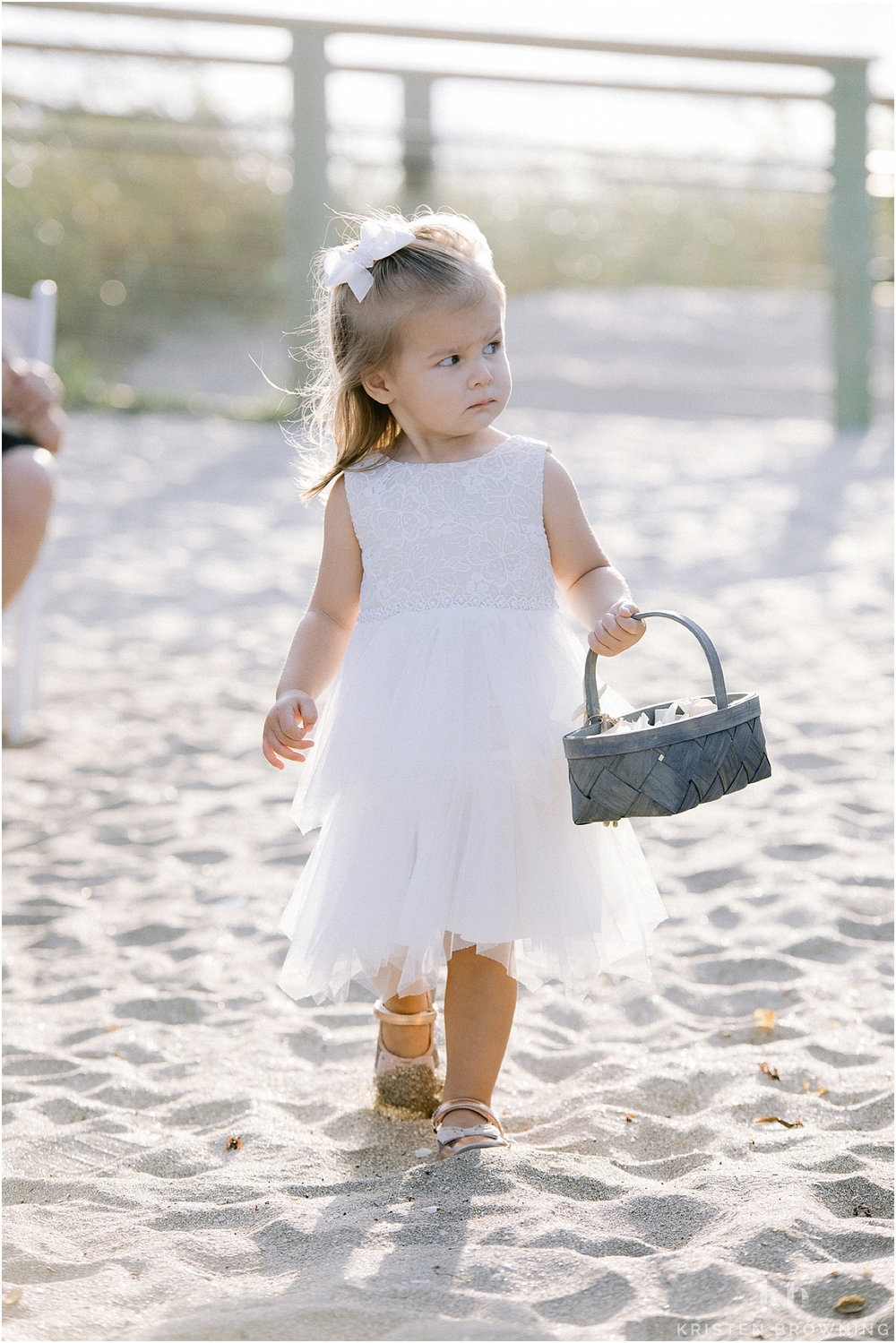 Hutchinson Shores Resort and Spa flower girl