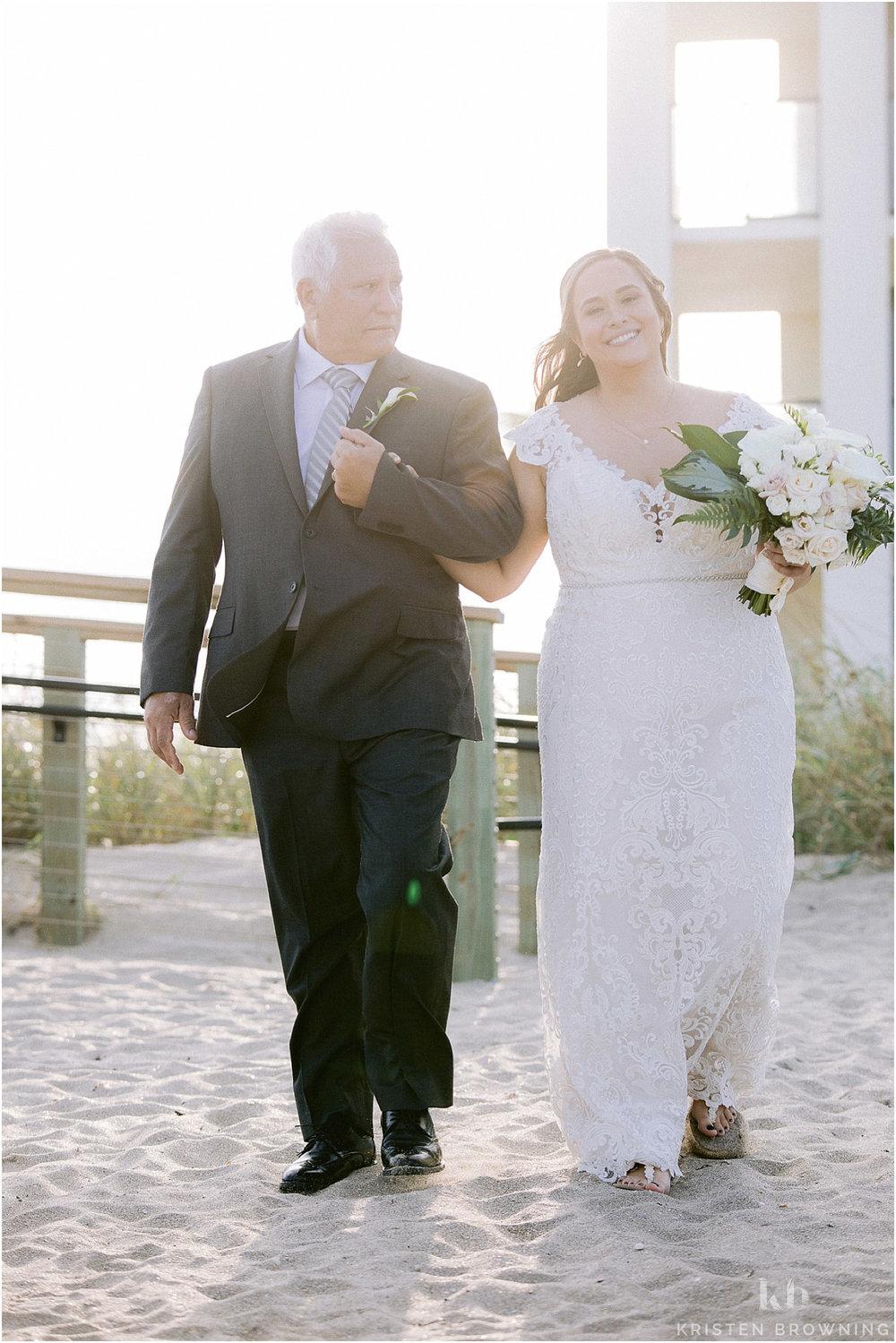 Hutchinson Shores Resort and Spa beach wedding