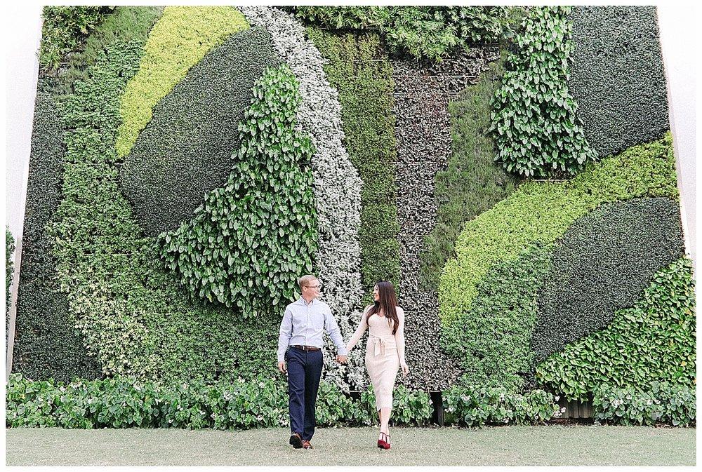 green wall at worth avenue