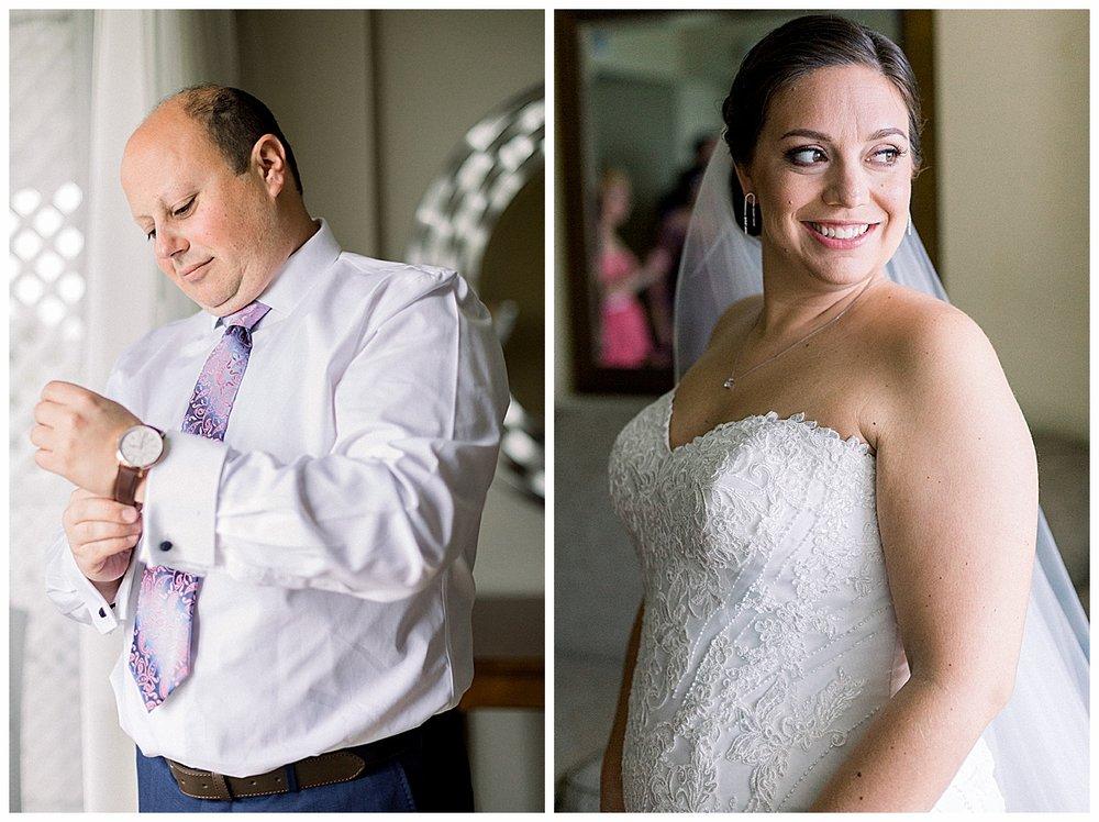 bride and groom at hutchinson island marriott