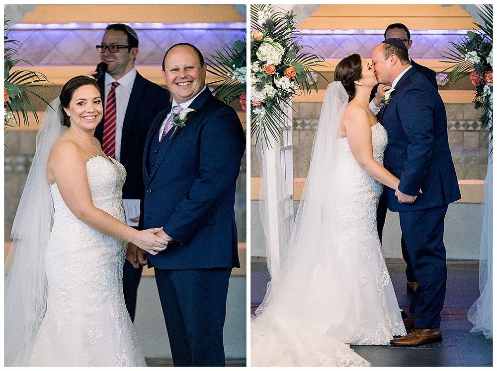 Jewish wedding ceremony at hutchinson island marriott