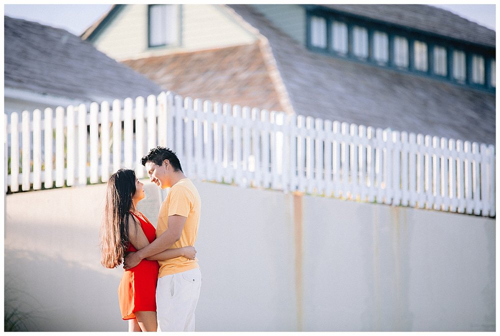 Engagement photos from House of Refuge