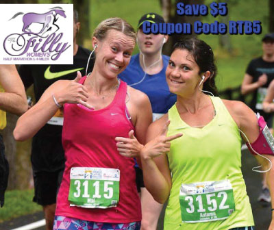 SAve $5 on Kentucky's only Women's Half Marathon!