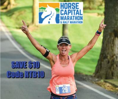 Save $5 on Horse Capital Marathon & Half Marathon