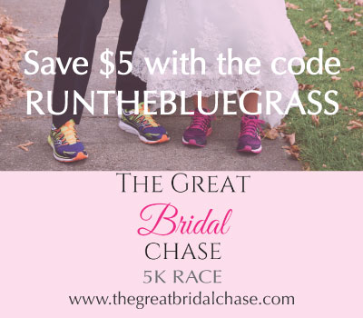 Save $5 on the Great Bridal Chase 5K!
