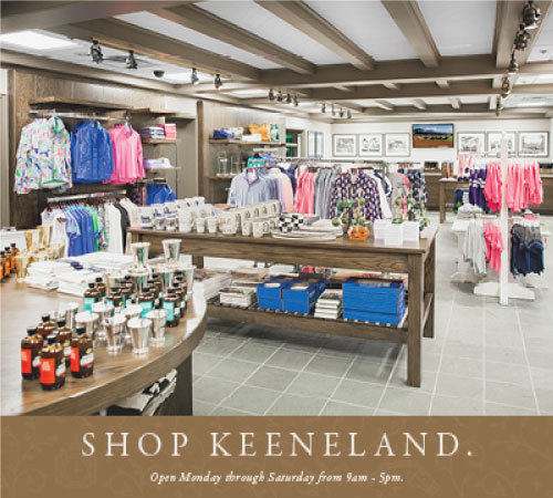 Shop the Keeneland Store!