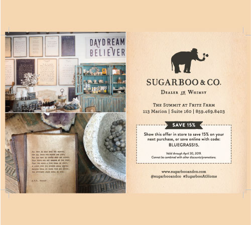 Save 15% at Sugarboo & Co!