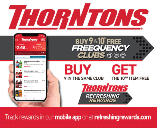 Great deals on the Thornton's App!
