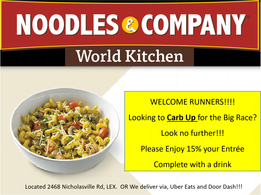 15% off a meal at Noodles & Co.