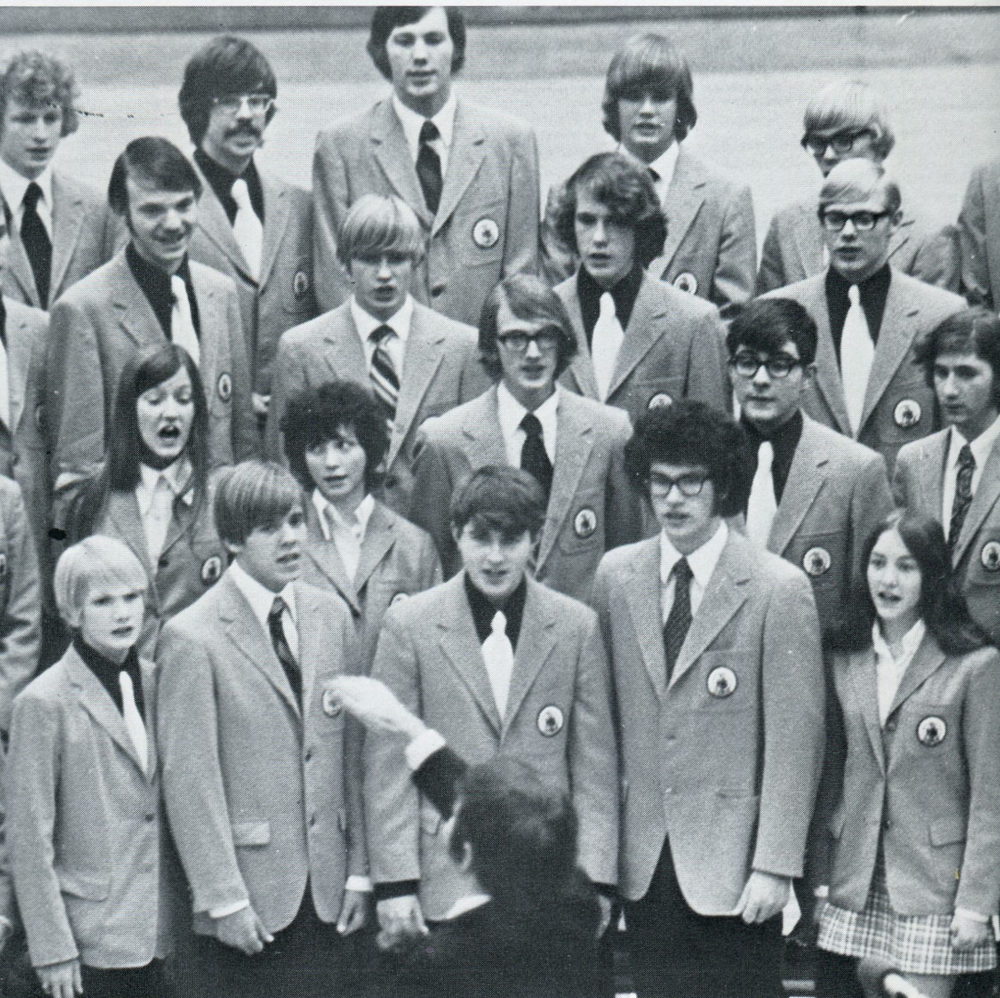 1972 Choir Performance