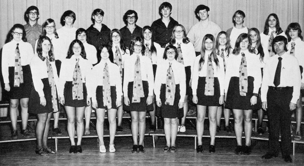 1972 Ninth Grade Chorus