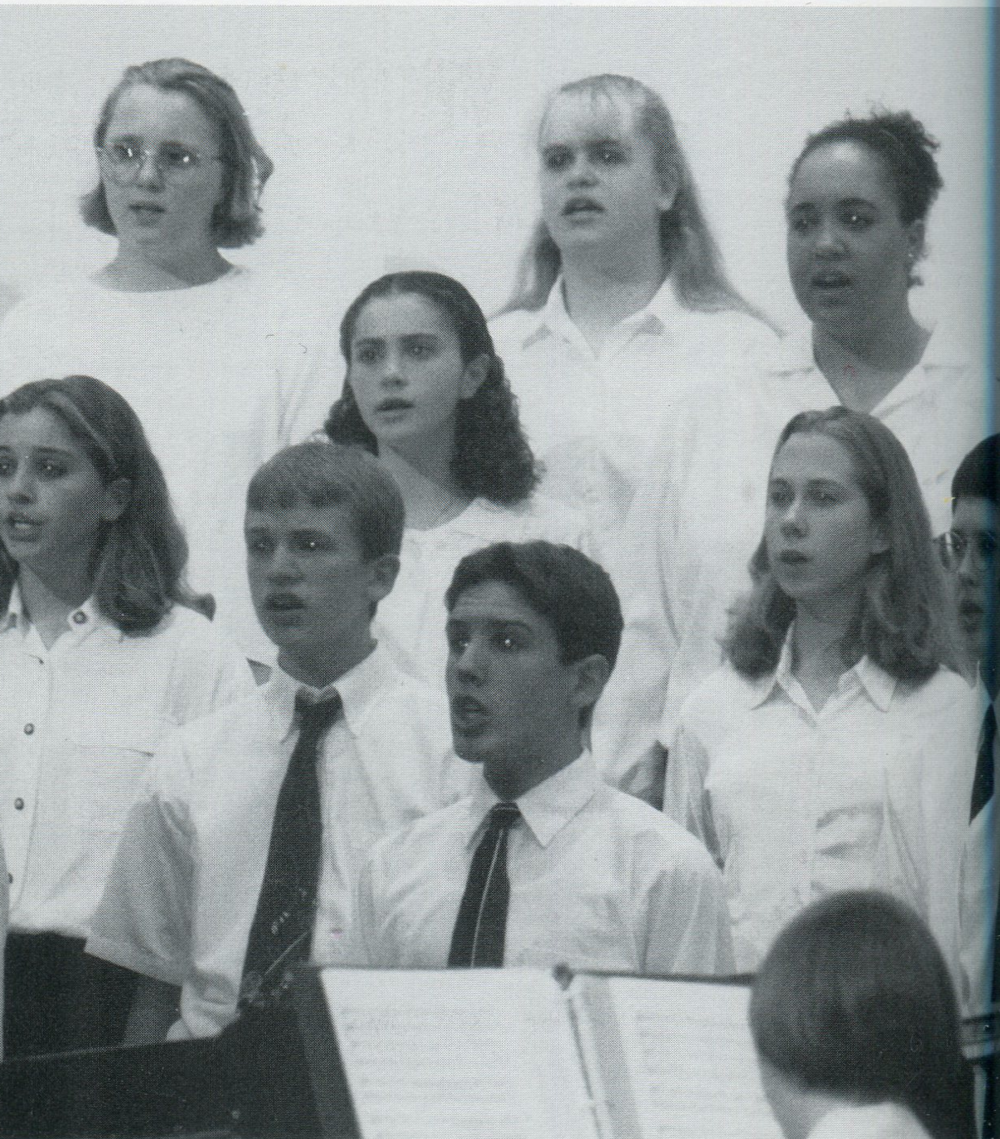 1991 Choir Performance
