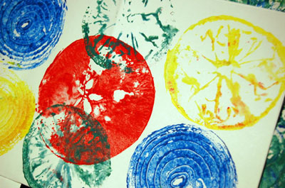 Fruit & Vegetable Printing — AHA! A Hands-On Adventure, A ...