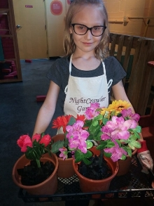 GARDEN ZONE  Pots, flowers, shovels, and pretend soil. Put on an apron and gloves. We have everything you need to create your very own garden.   Sponsored by the Ohio State University Fairfield County Volunteer Master Gardeners