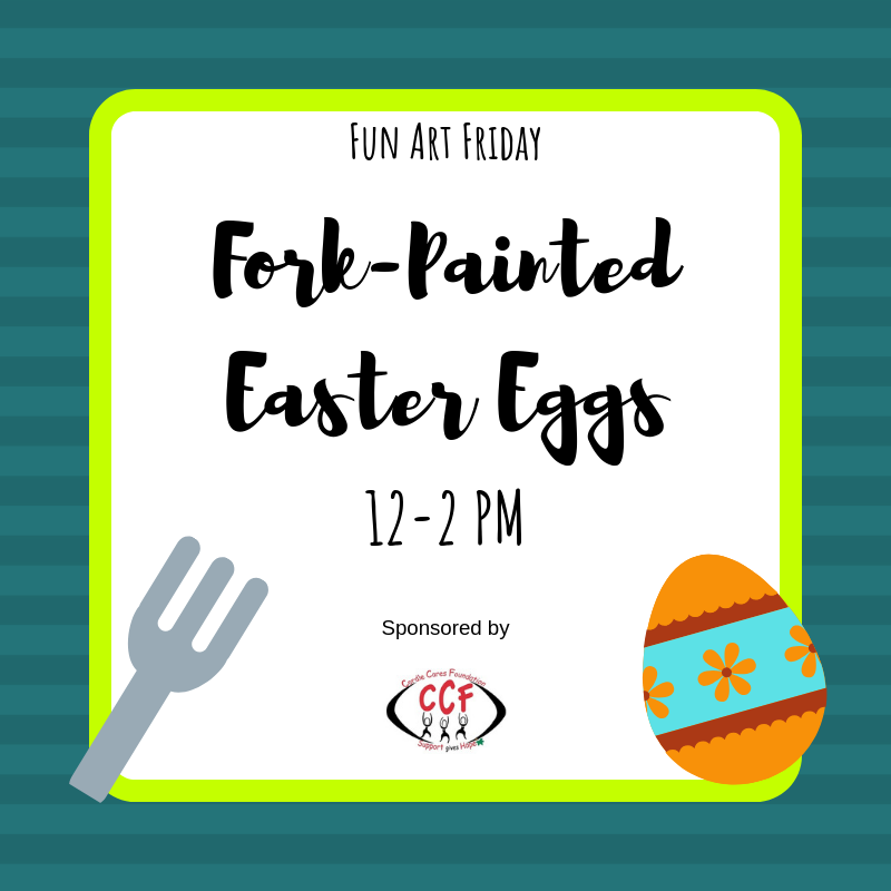 Fun Art Friday Fork-Painted Easter Egg.png
