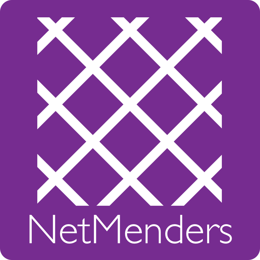 NetMenders   deliberately employs principles and practices of self discipline for spiritual formation into Christ