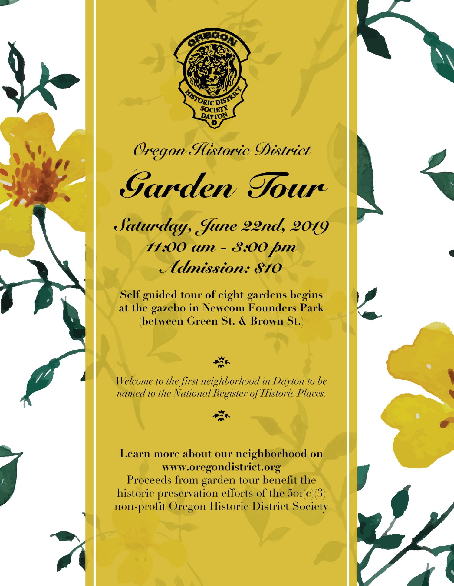 Oregon District Christmas Tour 2019 Oregon Historic District Society's 2019 Garden Tour — Oregon