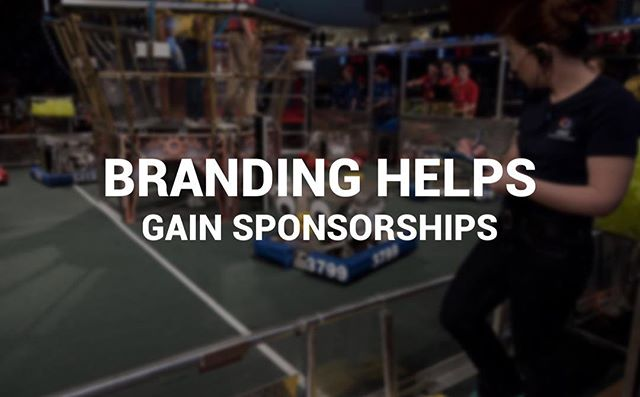 ❗️Here is a fact: branding helps gain sponsors for your #firstrobotics team. It all starts when you communicate clearly who your team is and what they do. Then, by bringing design elements in, your team can stand out and become noticed, respected, and well funded. #omgrobots.