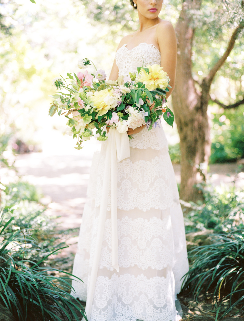 elegant texas garden wedding inspiration from The Wildflowers | follow us on instagram: @ thewildflowers.events