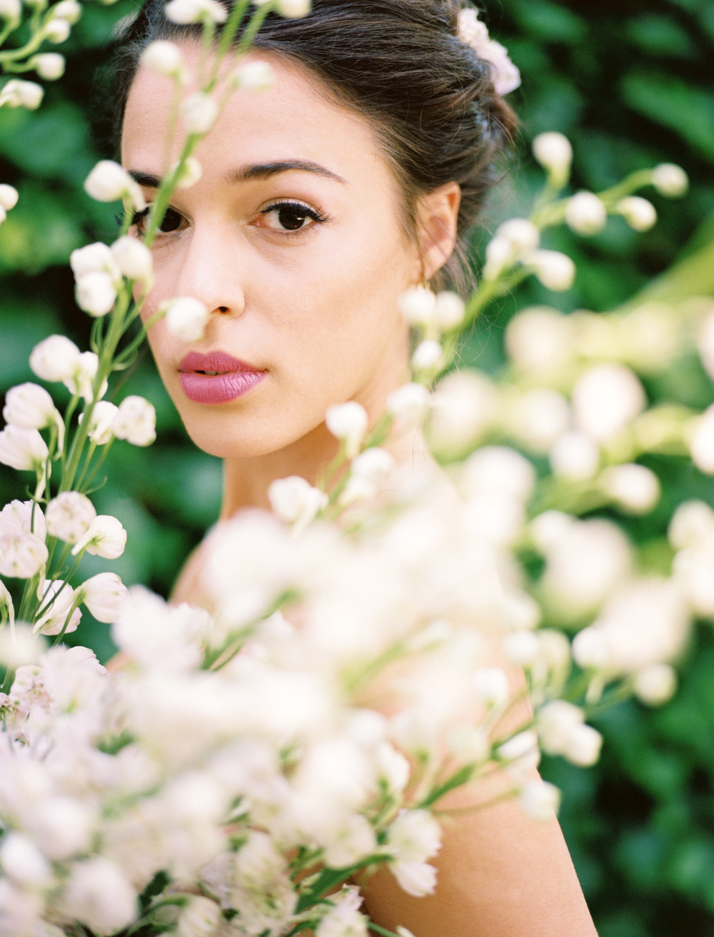 elegant texas garden wedding hair and makeup inspiration from The Wildflowers | follow us on instagram: @ thewildflowers.events