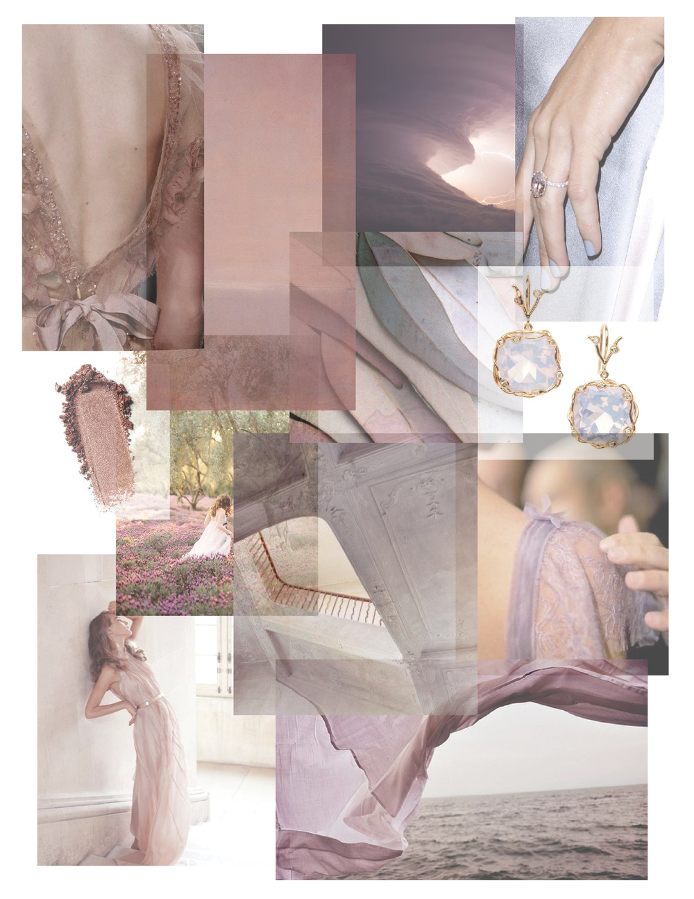 Wedding Palette We Love: Lavender and Rose Gold | follow us on Instagram: @ thewildflowers.events