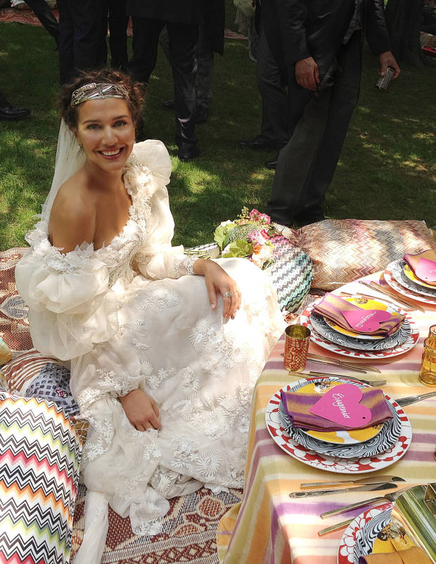 Margherita Missoni's boho outdoor wedding | follow along on Instagram @ thewildflowers.events