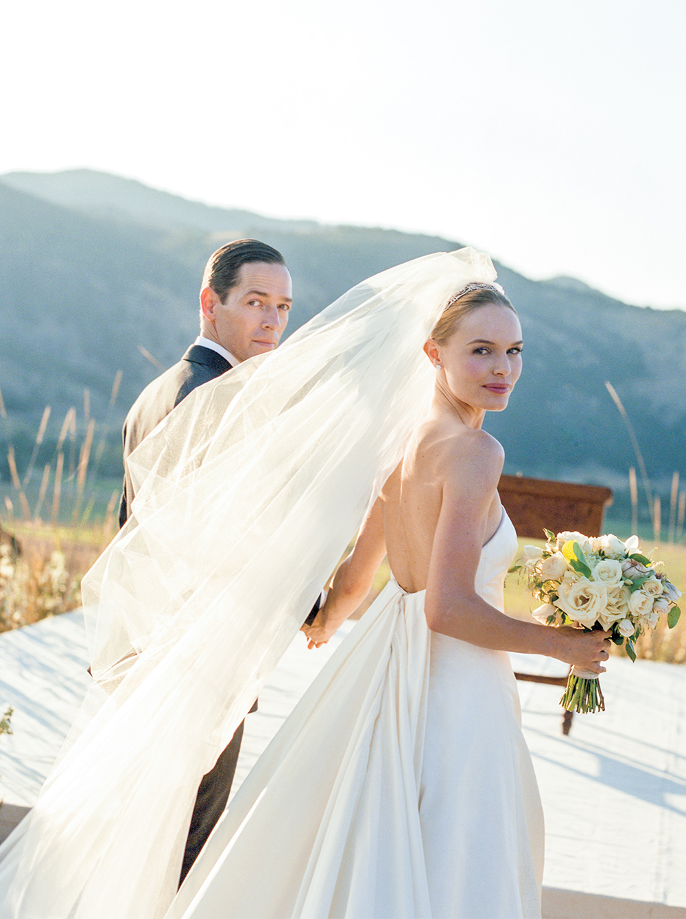 Kate Bosworth's big sky Montana wedding | follow along on Instagram @ thewildflowers.events