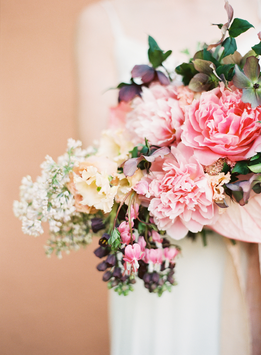 terracotta pink bouquet wedding inspiration designed by The Wildflowers | follow us on instagram: @ thewildflowers.events