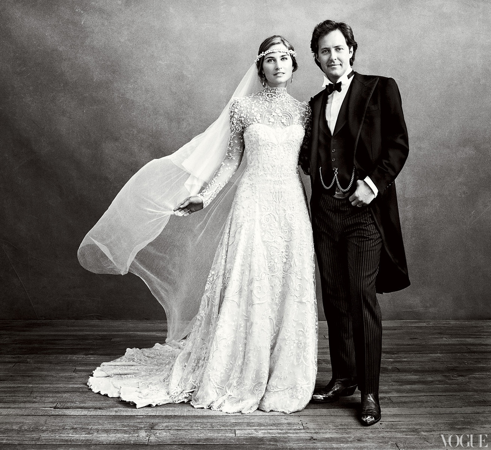 Lauren Bush Lauren and David Lauren wed in Colorado in 2011 with an old-fashioned glamour vibe | follow us on Instagram @ thewildflowers.events