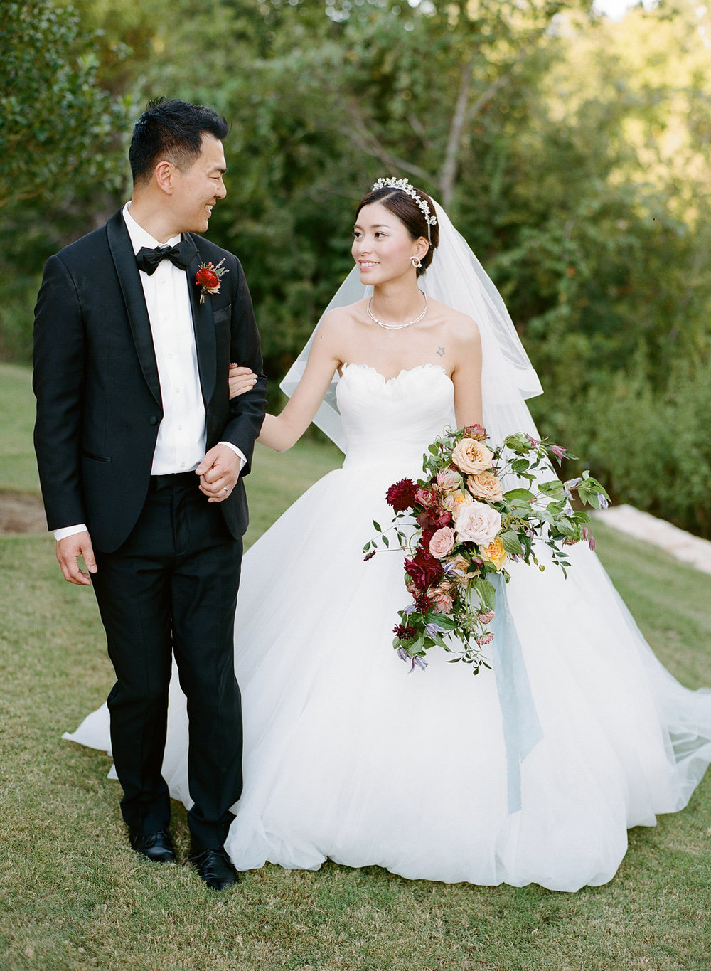 chinese american dallas texas wedding planner the wildflowers fall wedding