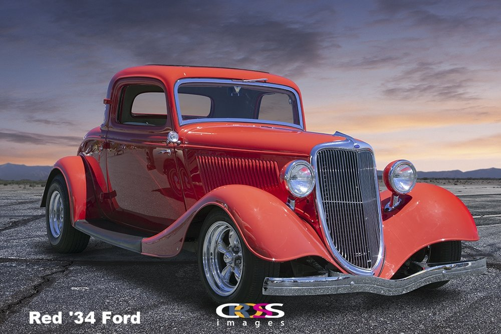 Red '34 Ford