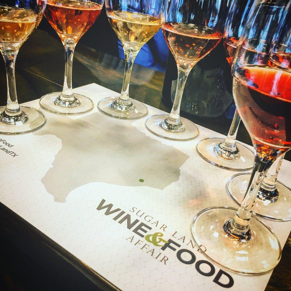 SUGAR LAND WINE & FOOD AFFAIR - EVENT PRODUCTION | APRIL 2017 | HOUSTON, TX