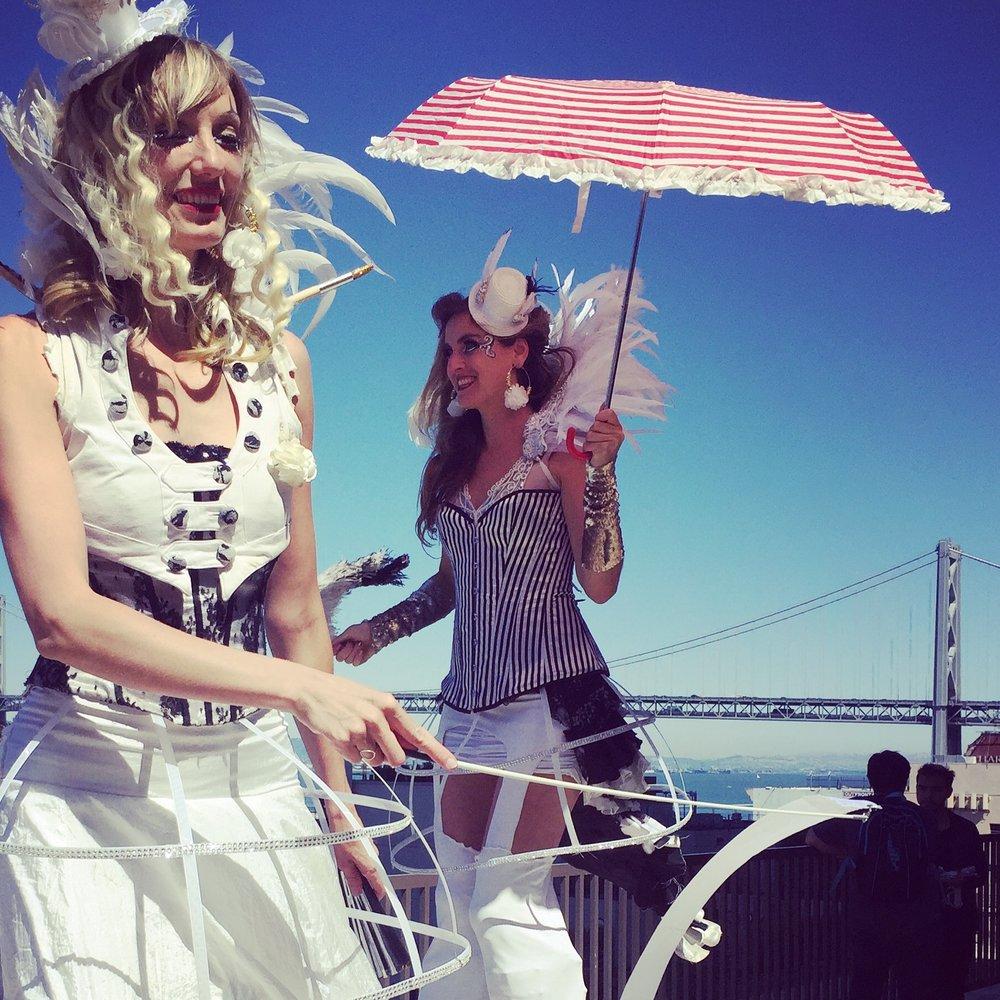 CORPORATE CIRQUE - EVENT PRODUCTION | MAY, JUNE, JULY 2016 | SAN FRANCISCO, CA | OAKLAND, CA