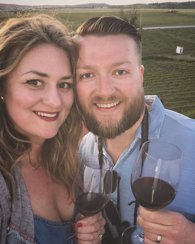 I mean, wine and sunset in Alentejo with this cutie? Heart burster 🍷
