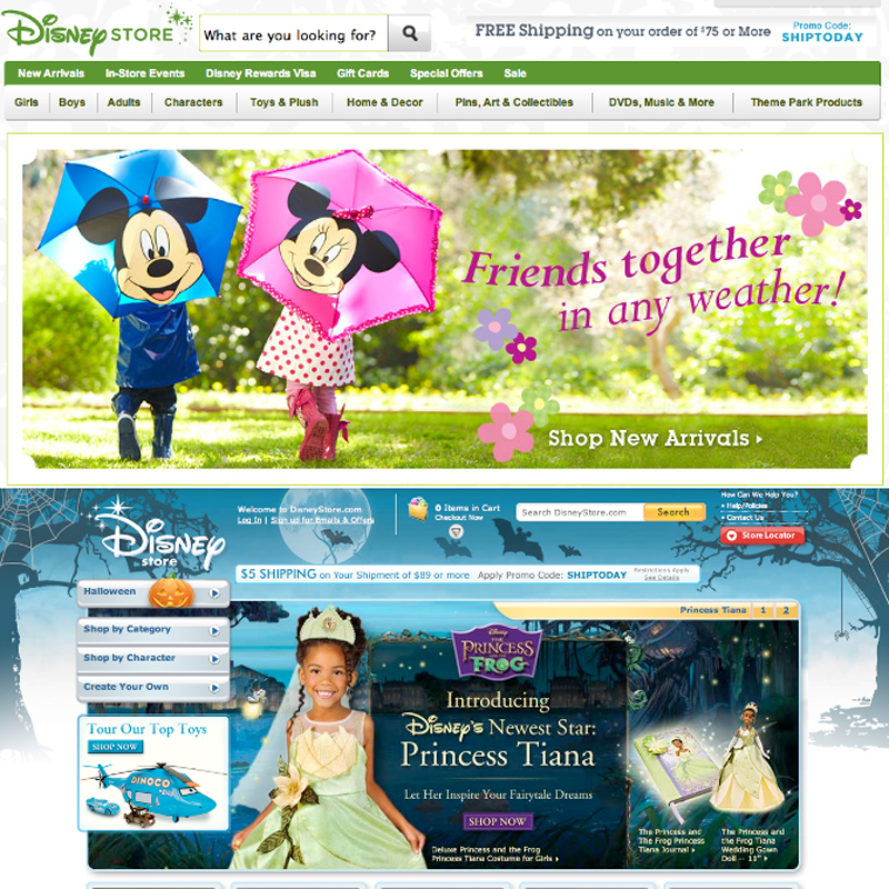 DISNEY  Marketing • E-commerce