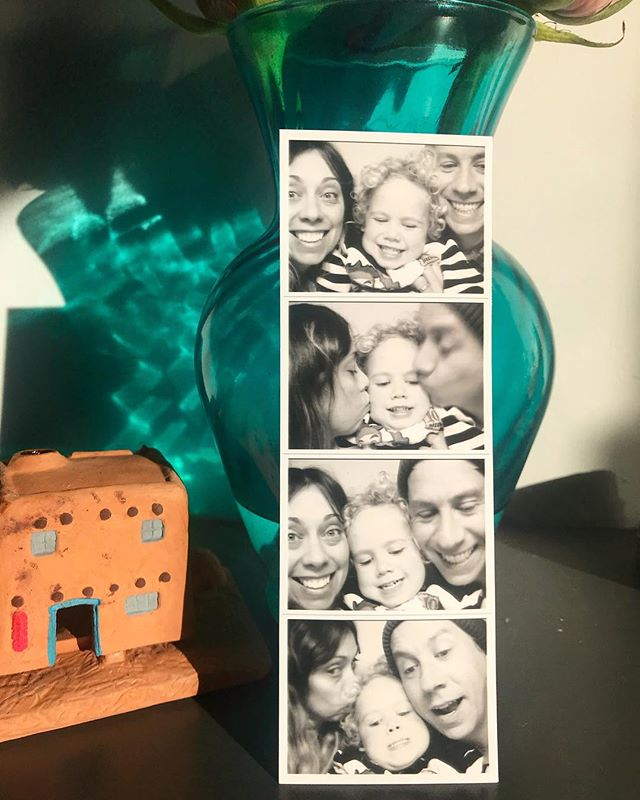Found a new photo booth at our local movie theater this week! 💗 Happy Friday, friends! 💗