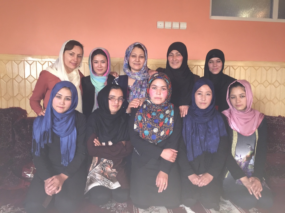 AFN Girls Scholarship Recipients—Kabul, Afghanistan
