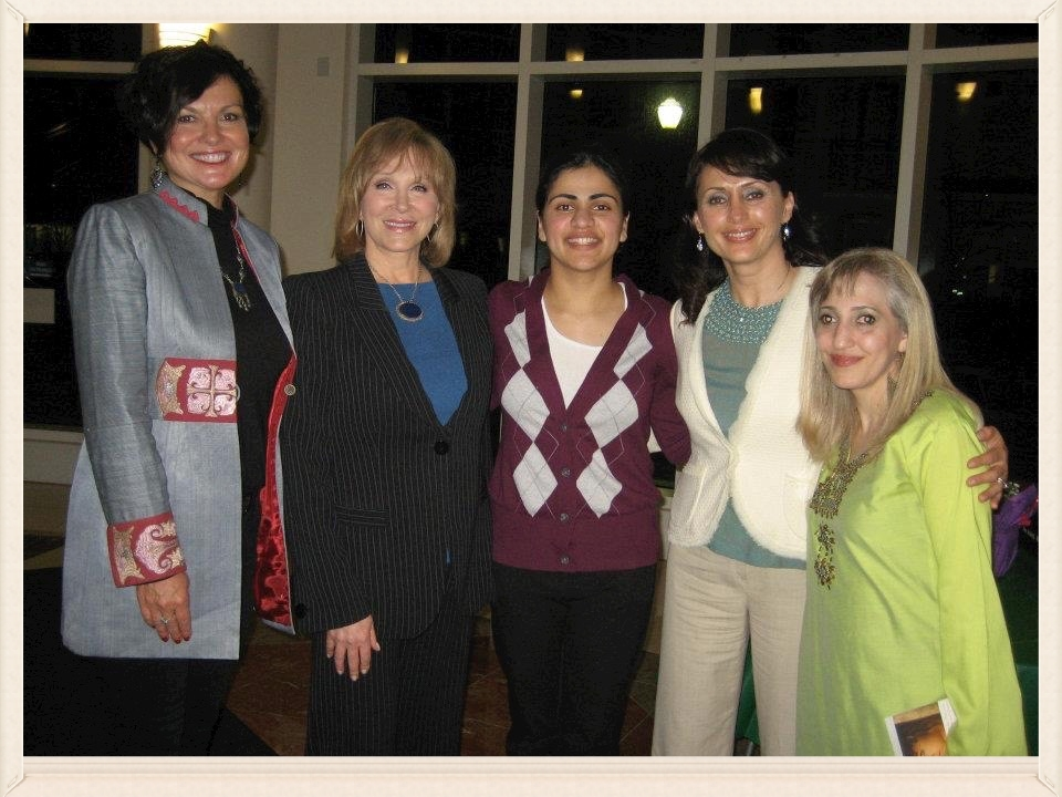 Panel on Afghan Women  in Hayward, California — Heidi Kuhn, Cheryl Jennings, Aisha Wahab, Humaira and Fariba Nawa