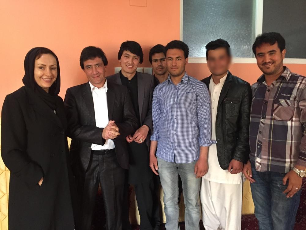AFN Scholarship Students—Kabul, Afghanistan