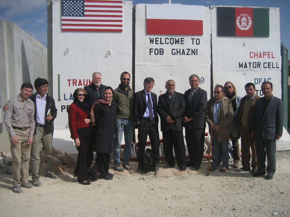 Forward Operating Base, Ghazni Afghanistan