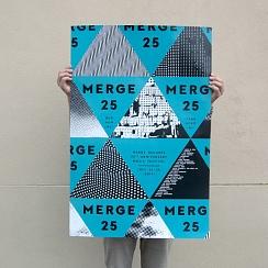 Merge 25 Festival Poster
