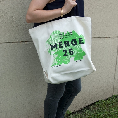Merge 25 Festival Tote Bag