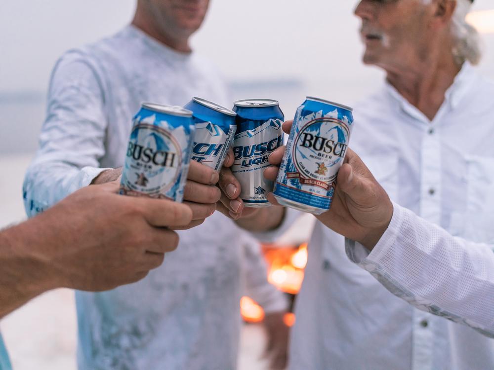 Busch Beer Fishing