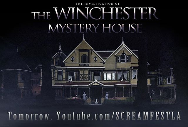 Super scary project I helped shoot and experience with some great people! Wanna see what it's like at night inside one of the most haunted places in America? We had the place to ourselves...or so we thought.... . . #screamfest #paranormal #haunted #hauntedhouse #winchester #winchestermysteryhouse #ghosthunting