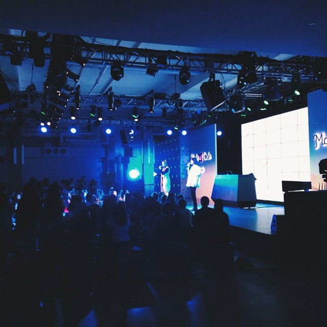 @iconapop closing out @google's Made with Code Event. Such a great evening listening to strong women like @dafeinberg, @chelseaclinton, @unicef's Erica Kochi, and @iluminatedance founder Miral Kotb inspire young women to find and express their voice by learning to code and help shape the future. Coding is today's leading creative expression and needs more future women using it to lead and shape tomorrow.