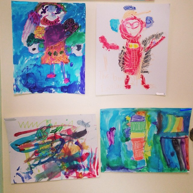 So proud of the creative kids at Sanctuary summer activities programming! #imagination