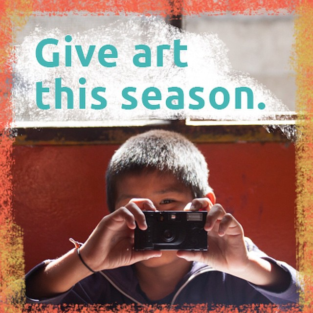 This #givingtuesday, join us giving the gift of creativity. Art education cultivates not only better artists, but more engaged students, higher empathetic people, and stronger leaders. From DaVinci to Einstein, every influential person in history has one thing in common: creativity. We're giving youth in NYC and Lima the ability to examine the world around, express its internal impact, and understand the importance of collaboration.  In the spirit of the season, take heart and give art.  The link to donate is in our profile.