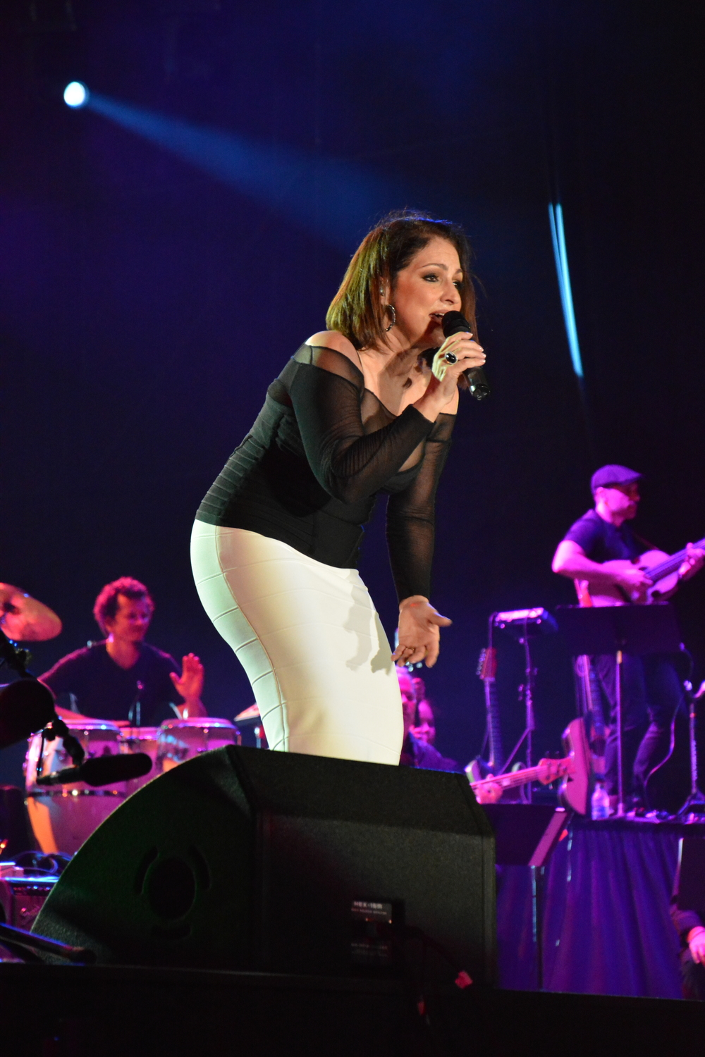 Miami music legend Gloria Estefan moves the crowd